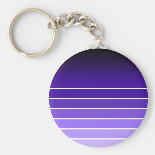 muestra púrpura llavero personalizado