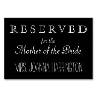 Muestra reservada del boda blanco y negro