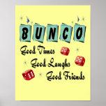 Muestra retra de Bunco - buenos tiempo, risas y am Impresiones