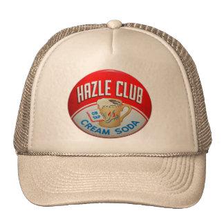 Muestra retra de la soda de club del club de Hazle Gorros