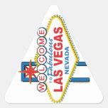 Muestra retra de Las Vegas Colcomanias Trianguladas Personalizadas