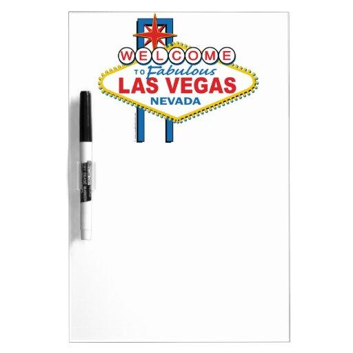 Muestra retra de Las Vegas Tablero Blanco