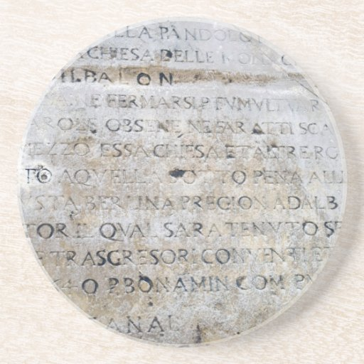 Muestra romana antigua posavasos manualidades