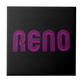Muestra rosada de Reno Teja Ceramica
