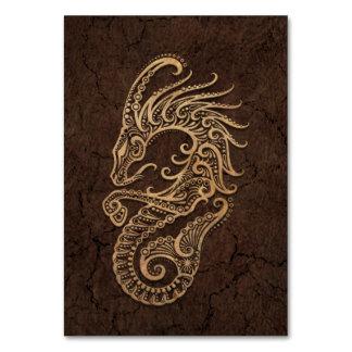 Muestra rústica del zodiaco del Capricornio en el