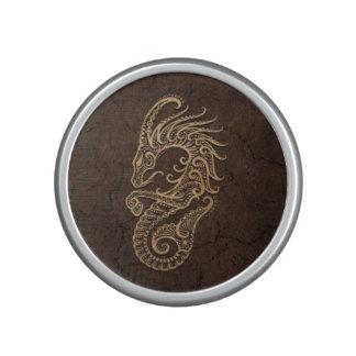 Muestra rústica del zodiaco del Capricornio en el Altavoz