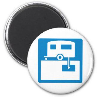 Muestra sanitaria de la carretera de la descarga imanes para frigoríficos