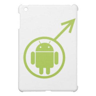 (Muestra/símbolo) Bugdroid androide masculino