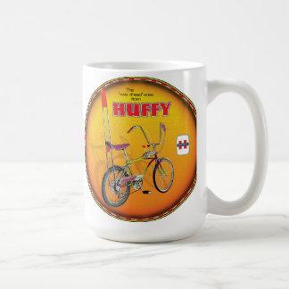 Muestra susceptible de la bici del Highrise Tazas De Café