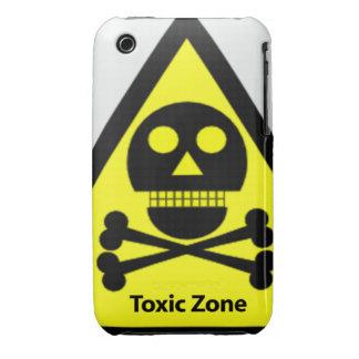Muestra tóxica de la zona funda bareyly there para iPhone 3 de Case-Mate