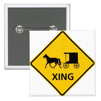 Muestra traída por caballo de la carretera de la t pin cuadrada 5 cm