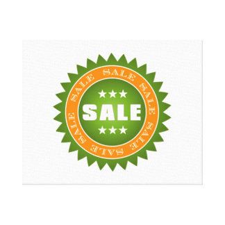 Muestra verde de la venta impresión en lona