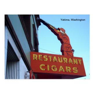 Muestra Yakima, Washington del centro de deportes Tarjetas Postales
