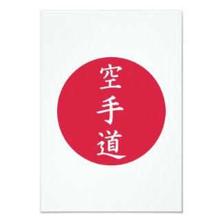 Muestras chinas del karate