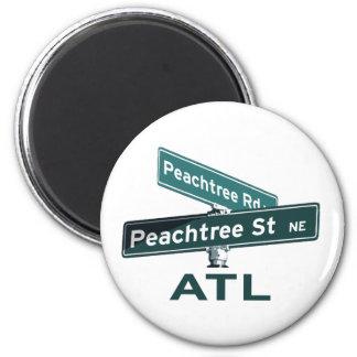 Muestras de ATL Peachtree Imán Para Frigorífico