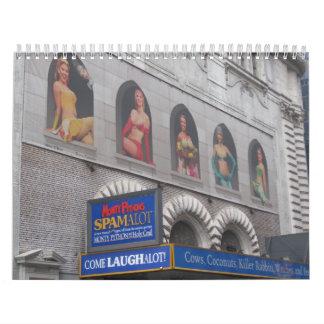 Muestras de Broadway 2009 Calendarios De Pared