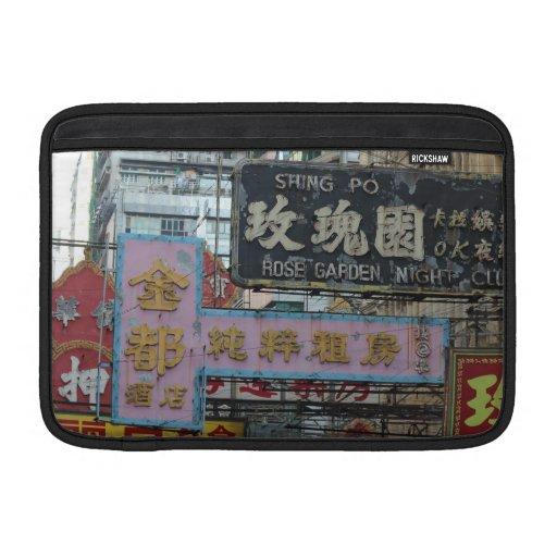 Muestras de Hong Kong Funda MacBook