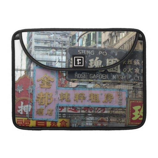 Muestras de Hong Kong Funda Para Macbooks