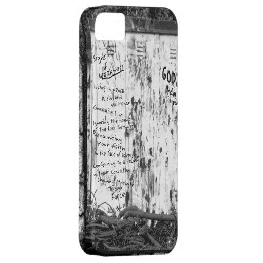 Muestras de la debilidad iPhone 5 carcasas