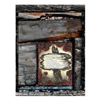 Muestras de un alma en la desolación tarjetas postales