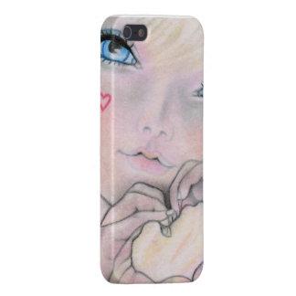 Muestras del caso de Iphone del amor iPhone 5 Carcasa