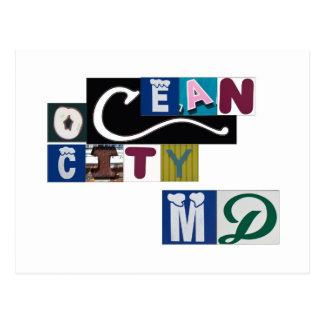 Muestras del MD de la ciudad del océano Postales