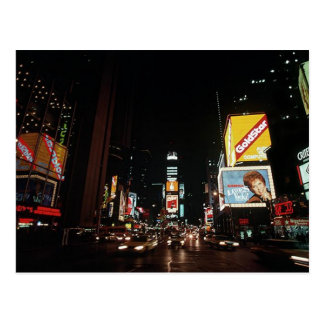 Muestras del teatro del Times Square de New York C Postal