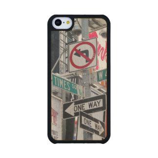 Muestras del Times Square Funda De iPhone 5C Slim Arce