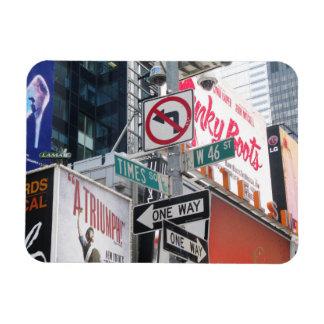 Muestras del Times Square Imanes Flexibles