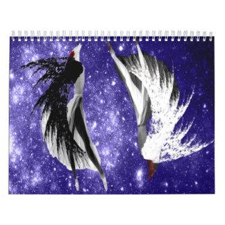 Muestras del zodiaco calendario de pared