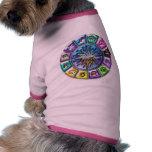 Muestras del zodiaco ropa para mascota