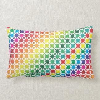muestras multicoloras almohadas