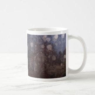 Muestras nuestras amadas taza de café