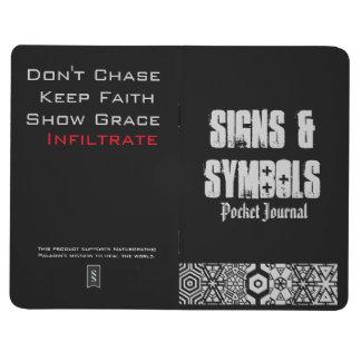 Muestras y cuaderno de bolsillo de los símbolos #1