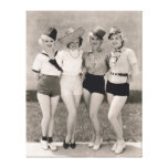 Muestre a chicas la impresión de la lona - 1706778 lona envuelta para galerias