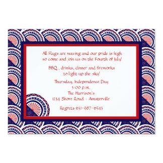 Muestre a sus colores la invitación patriótica