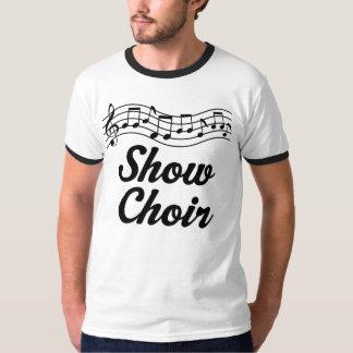 Muestre al coro playera