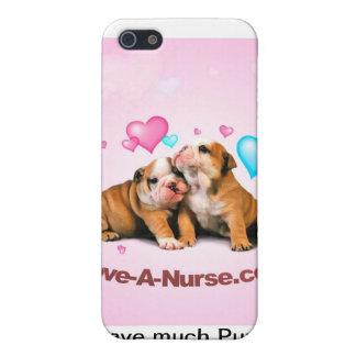Muestre el amor adolescente para las enfermeras iPhone 5 funda
