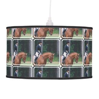 Muestre el caballo lámpara de techo