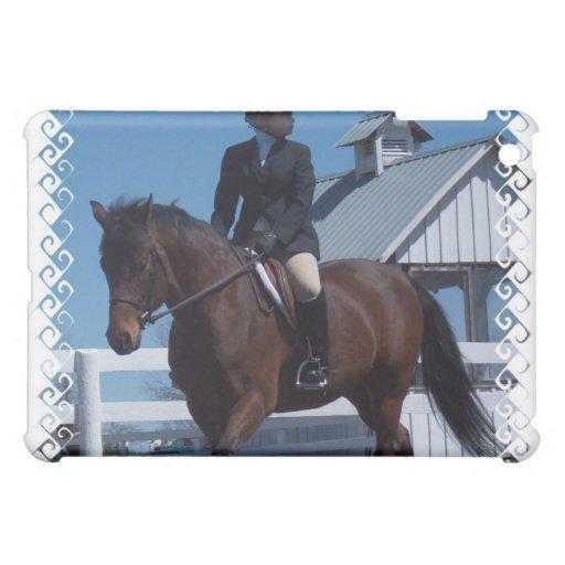 Muestre el caso del iPad del caballo
