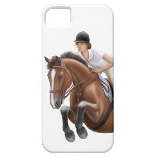 Muestre el caso del iPhone del caballo del puente iPhone 5 Cárcasas