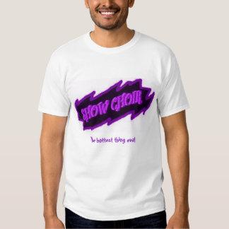 Muestre el mezzo del coro camisas
