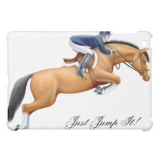 Muestre el personalizable del caballo del puente