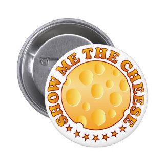 Muestre el queso Brown Pin Redondo De 2 Pulgadas