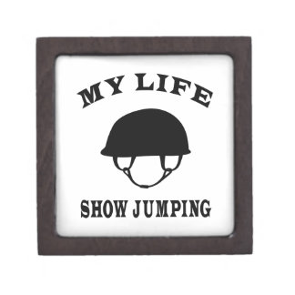 Muestre el salto de mi vida caja de regalo de calidad