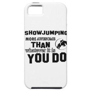 muestre el salto más impresionante funda para iPhone SE/5/5s