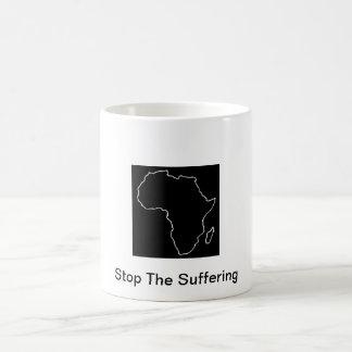 Muestre la ayuda para África Taza De Café