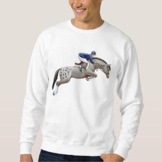 Muestre la camiseta del Appaloosa del puente Sudadera Con Capucha