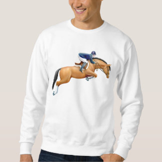 Muestre la camiseta del caballo del puente suéter