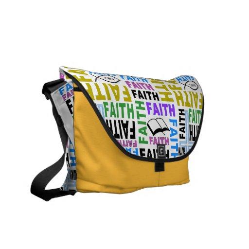 Muestre los colores de su bolso #3 de la fe bolsas de mensajería